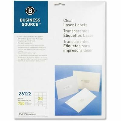 Business Source Clear Mailing Label 26122