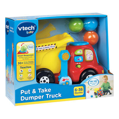 VTech Baby Put and Take Dumper Truck Toy Gift - New