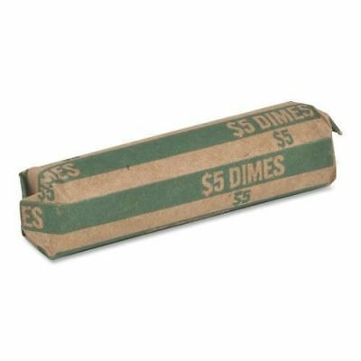 Sparco Flat $5.00 Dimes Coin Wrapper TCW10