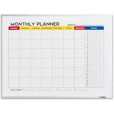 Lorell Dry-Erase Magnetic Planner Board 19206