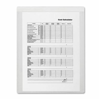 Business Source Self-Adhesive Shop Ticket Holder 16465