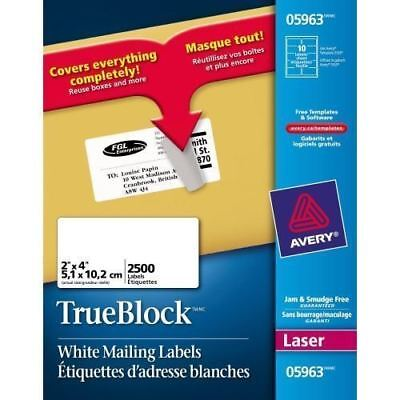 Avery Easy Peel Address Labels 05963
