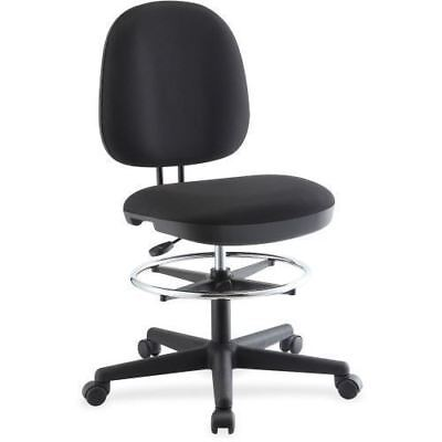 Lorell Contoured Back Swivel Stool 84583