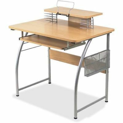 Lorell Upper Shelf Laminate Computer Desk 14337
