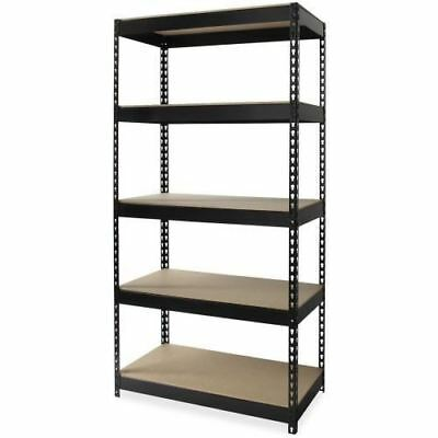 Lorell Riveted Steel Shelving 61621