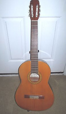 Cortez G-80 Acoustical Classical Guitar Made in Japan #80139 & Stand