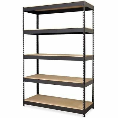 Lorell Riveted Steel Shelving 61622