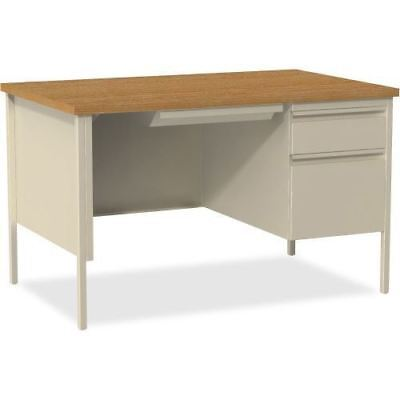 "Lorell Fortress Series 48"" Right Single-Pedestal Desk 66908"