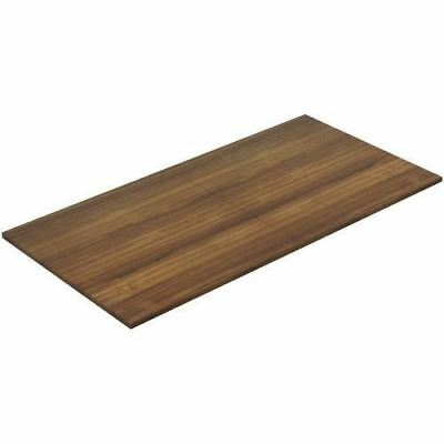Lorell Chateau Walnut 8' Rectangular Conference Tabletop 34339