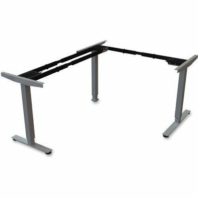 Lorell Sit/Stand Desk Silver Third-leg Add-on Kit 99850