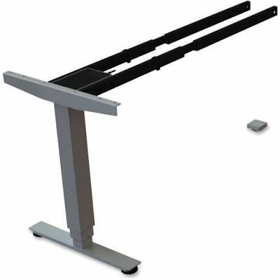 Lorell Sit/Stand Desk Silver Third-leg Add-on Kit 99853