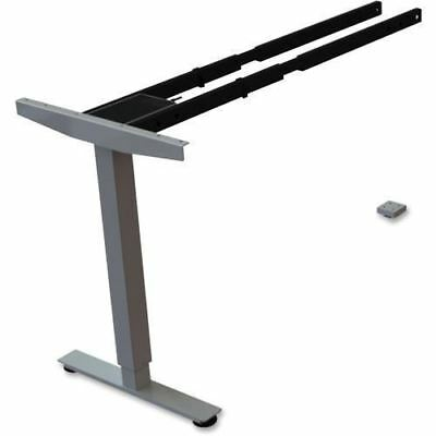 Lorell Sit/Stand Desk Silver Third-leg Add-on Kit 99851