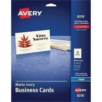 Avery Business Card 8376