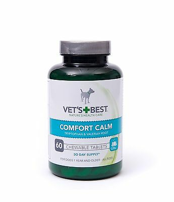 Vets Best Comfort Calm 60 Tablets for Dogs