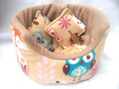"""COZY PETS guinea pig bed snuggle pouch cuddle cup sack hedgehog sleeping bag 10"""""""