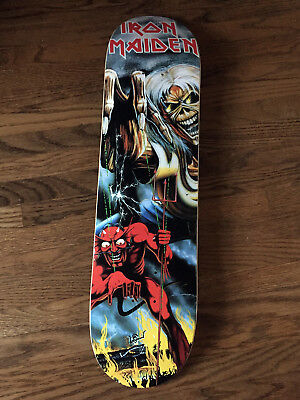 Iron Maiden - Officially Licensed Number Of The Beast Skatedeck