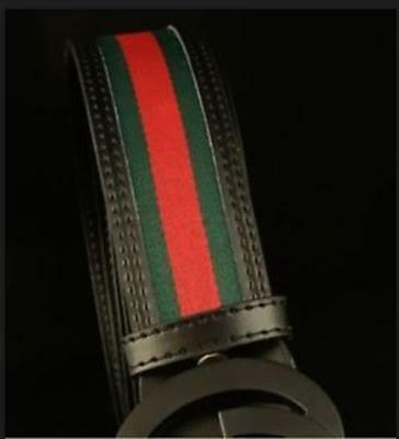 2017 Fashion Design Men's Multi colors styles Leather belt with buckle Hot Sale
