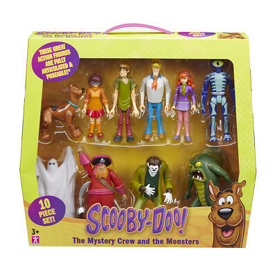 Scooby-Doo The Mystery Gang Friends & Foes 10 Figure Character Collector Pack