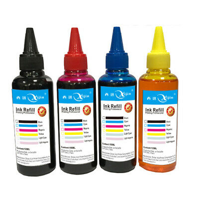 Universal 4 Color 100ml Cartridge Refill Ink Compatible For All Printer Canon