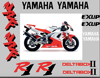 Yamaha YZF R1 1998 1999 Stickers Decals Set Kit Replica Replacement