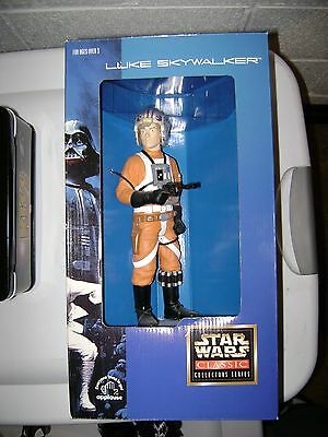 "Star Wars ""Luke in X-Wing Gear"" 10"" figure by Applause 1997 / Brand New"