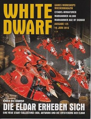 White Dwarf 125 June 2016 (German) by the 18 June 2016 Games Workshop WDS
