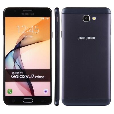 "BRAND NEW  SAMSUNG GALAXY J7 PRIME BLACK 5.5"" UNLOCK 16GB Single sim 4G LTE 2017"