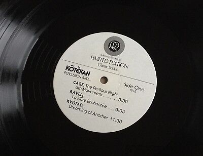 AUDIOPHILE LP Reference Recordings KŌTÈKAN Percussion And... Half Speed EX