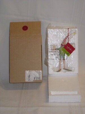 Patience Brewster Department 56 Kringles Elf 2001 NEW IN BOX