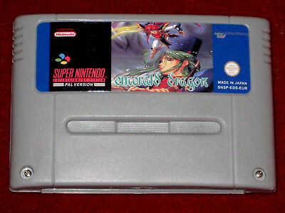 *Authentic* Super Nintendo SNES Game Cartridge Shell Label Only FINAL FIGHT GUY