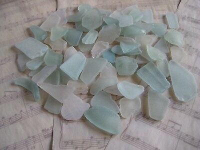 Scottish Sea Glass Shards (Turquoise/Clear) 270g
