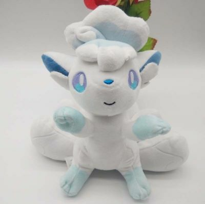 Pokemon Center Original Plush Alola Vulpix doll  Alolan JAPAN OFFICIAL Xmas Gift