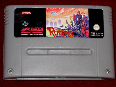 *Authentic* Super Nintendo SNES Game Cartridge Shell & Label Only METAL WARRIORS