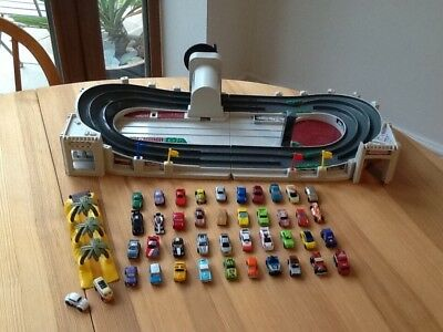 Micro Machines Wind-up Race Track and 42 Vehicles