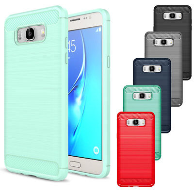 For Samsung Galaxy J7 J5 Shockproof Hybrid Rugged Rubber Slim TPU Case Cover