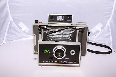 Polaroid 430 Automatic Land Camera - Tested - For Fuji FP100C-  From Canada!