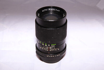 Auto Vivitar 135mm f/3.5 Prime Lens M42 Mount - Ships from Canada!