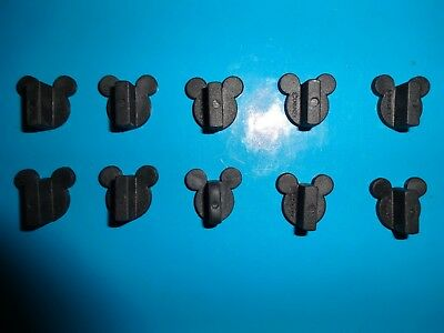 Disney / Mickey Mouse pin backs - NEW - Lot of 10 - Inc. FREE Shipping & Trkg