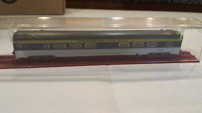 N Scale C&O Coach Car by MRC / ROWA Made in Germany