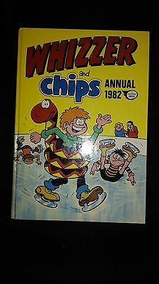 Whizzer And Chips 1982 Vintage Comic Book Annual