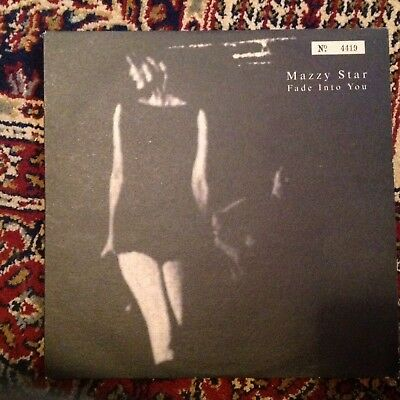 "Mazzy Star Fade Into You 10"" Vinyl EP Record Original Numbered Limited Edition"