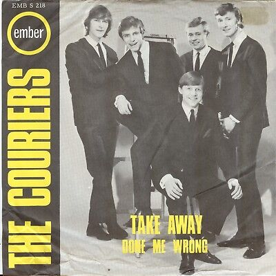 The Couriers**done Me Wrong**mod**beat**picture Sleeve**listen To It