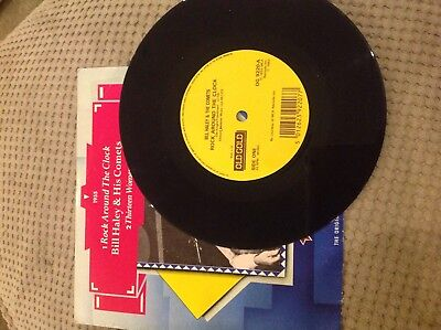 "Bill Hayley & his comets - Rock around the clock used 7"" vinyl record single"