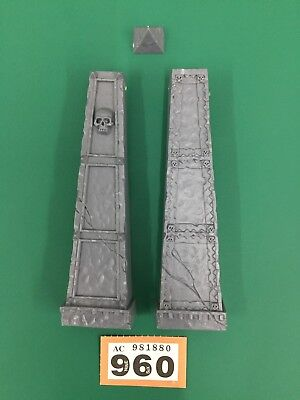 Warhammer Age Of Sigmar D&d Frostgrave Arcane Ruins Pillars Scenery Terrain