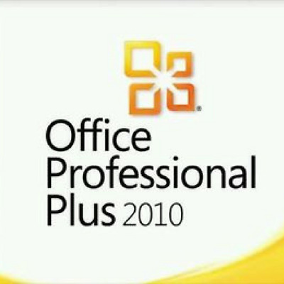 Office Professional Plus 2010 32 /64Bit License Key Scrap Pc