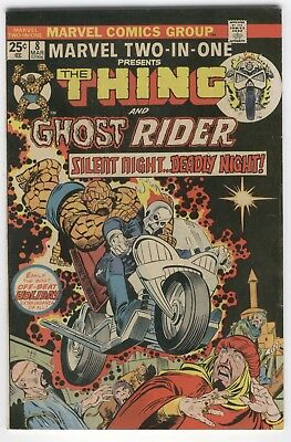 Marvel Two-in-One #8 The Thing, Ghost Rider FN