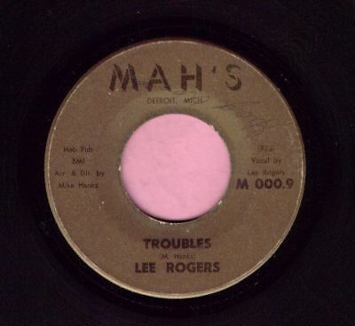 "Lee Rogers  "" Troubles "" Mah's Northern Listen"