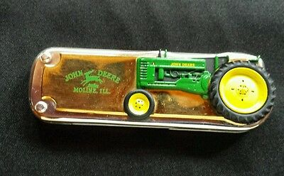 John Deere 1948 Model B Tractor Franklin Mint Collectible Knife