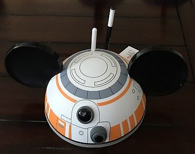 Disney Parks, Star Wars Cap, Bb-8 & Mickey Mouse Ears, Adult Size (54 Cm), New!