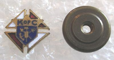 Vintage K of C Knights of Columbus Fraternal Lapel Pin